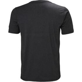 Helly Hansen HH Logo T-Shirt Homme, ebony melange